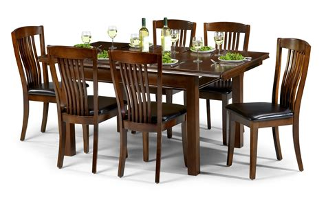 julian bowen canterbury dining collection in mahogany