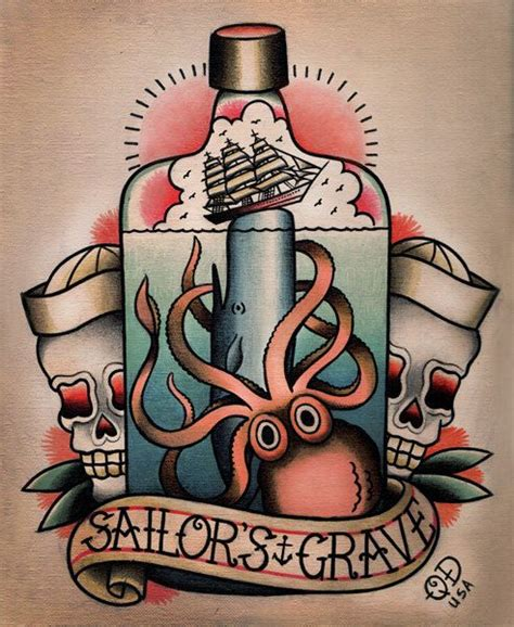 336 Best Images About Old Skool Tattoos On Pinterest Nautical Flash 2