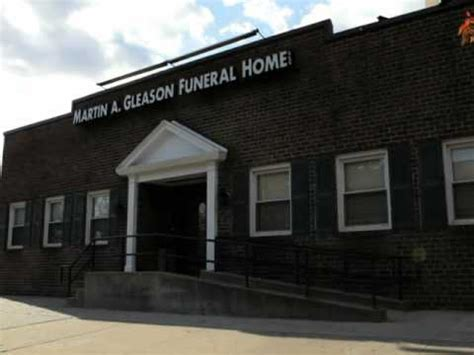 martin a gleason funeral home llc funeral home