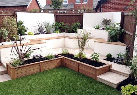 New Build Garden Ideas Contemporary Garden Lush Garden Design