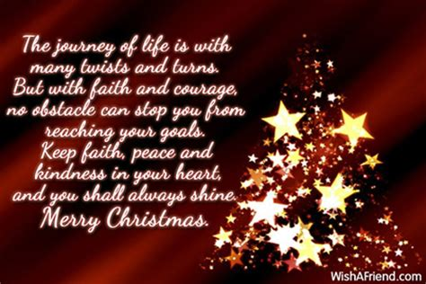 journey  life   merry christmas message