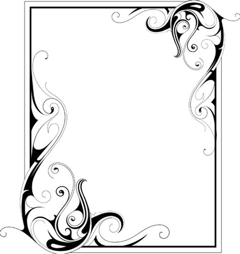 vector pattern frames cdr free ornament frame free vector download 14 794 free