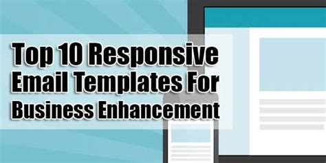 top 10 responsive email templates for business enhancement