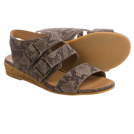 Sandal Wedges Wanita Lcu 132 eric michael noriko sandals for save 88