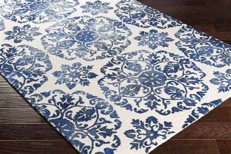 Blue And White Bathroom Rugs by Royal Blue And White Rug Rugs Ideas