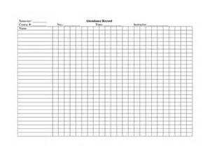 Weekly Attendance Register Template by School Attendance Register Template Crafty