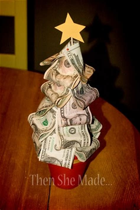christmas money tree ideas money tree present idea living on a dime