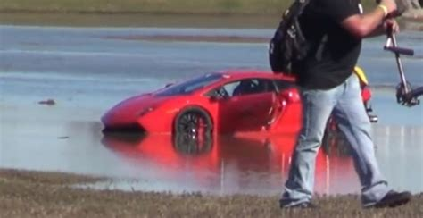 2000hp Lamborghini 2000 Hp Lamborghini Gallardo Crashes Into A Lake