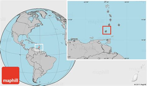 where is grenada located on a world map blank location map of grenada gray outside