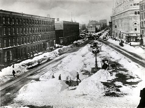 the white hurricane the great white hurricane of 1888 photos bowery boogie