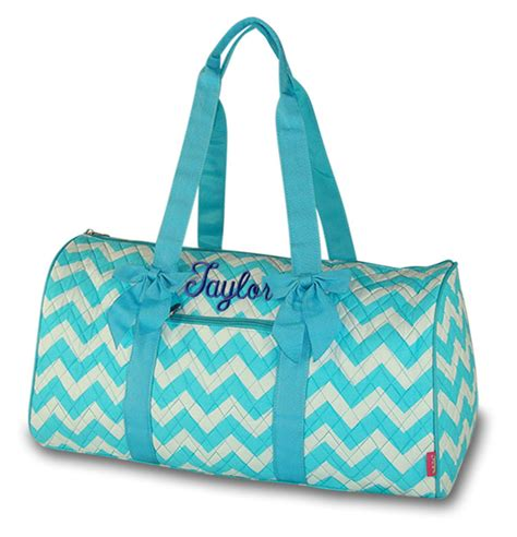 Quilted Monogrammed Bags by Monogrammed Quilted Duffel Bags