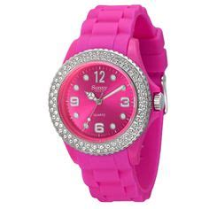 13 meilleures images du tableau montres 233 tanches silicone chrono swaroski clock waterproof