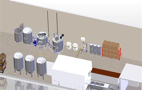 Nano Brewery Floor Plan by Brewery Square Footage Requirements