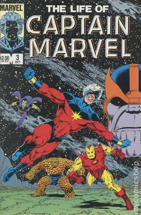 Biography Comic Book | life of captain marvel 1985 comic books
