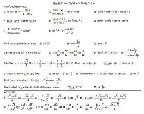 collection of practice 5 3 worksheet sum and difference