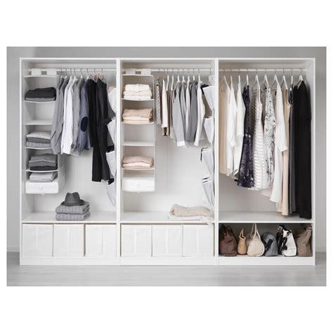 kleiderschrank ikea pax wardrobe white bergsbo vikedal 300x60x201 cm ikea