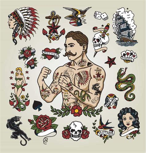 traditional style tattoo american traditional skin factory