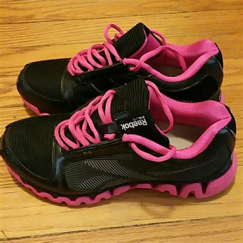 63 reebok shoes reebok black pink zigtech ziglite