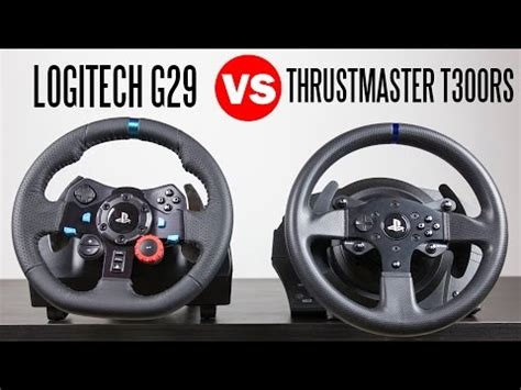 reset t300rs logitech g29 driving force racing wheel vs thrustmaster