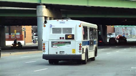 by way of the green line bus youtube mta bus 1997 obi orion v ex green bus lines q11 bus
