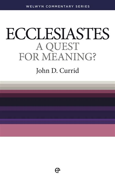 Definition Of The Word Vanity by Exiled Preacher Ecclesiastes A Quest For Meaning By
