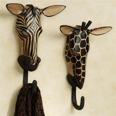 unique towel hooks unique towel hooks with natural wild animals wall hook set