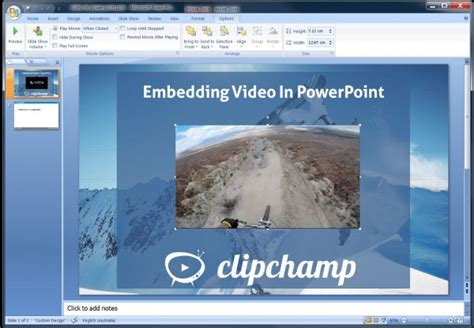 format audio embed how to embed video in powerpoint 2016 2013 2010 2007
