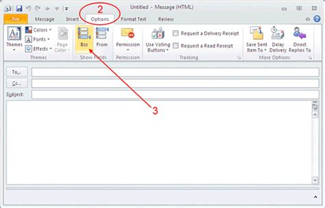 Office 365 Outlook Bcc How To Add Bcc Recipients In Outlook Computing Services