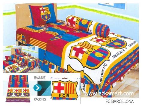 Bedcover Sprei Barcelonabedcover Sprei Klub Barca 180x200 sprei single motif klub bola terbaru 2018 toko selimut balmut sprei dan bed cover