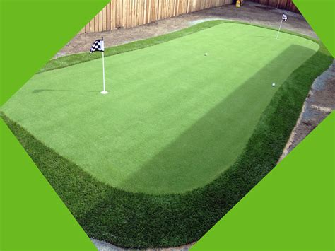 outdoor putting green synthetic grass agua dulce california outdoor putting green
