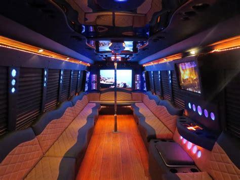 luxury limousine interior designs