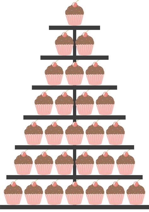 7 etagen etagere nur cupcakes sonja 180 s tortendesigner - Etagere 7 Etagen
