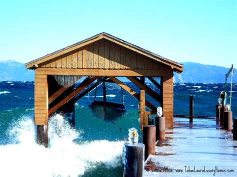 boat house lake tahoe lakefront homes tahoe city north shore and west shore
