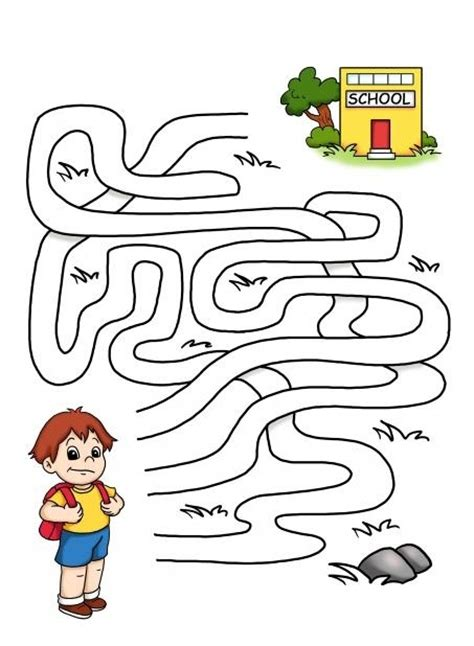 printable maze game for preschoolers crafts actvities and worksheets for preschool toddler and