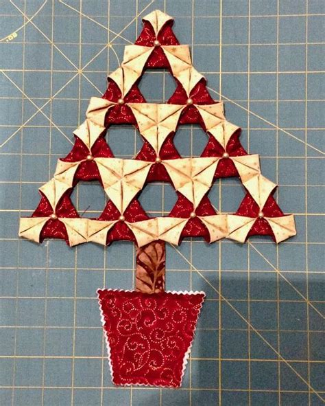 Fabric Origami Tree - 1000 images about quilting on