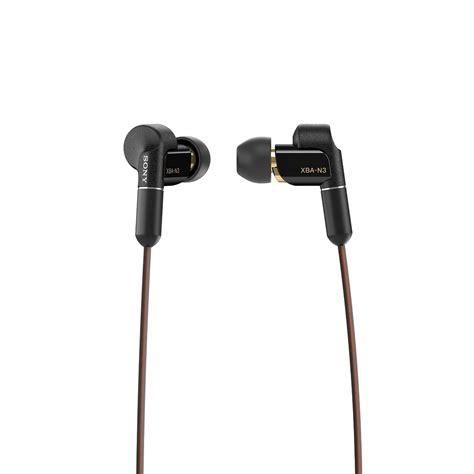 earphone in ear sony xba n3ap highres with dynamic drivers