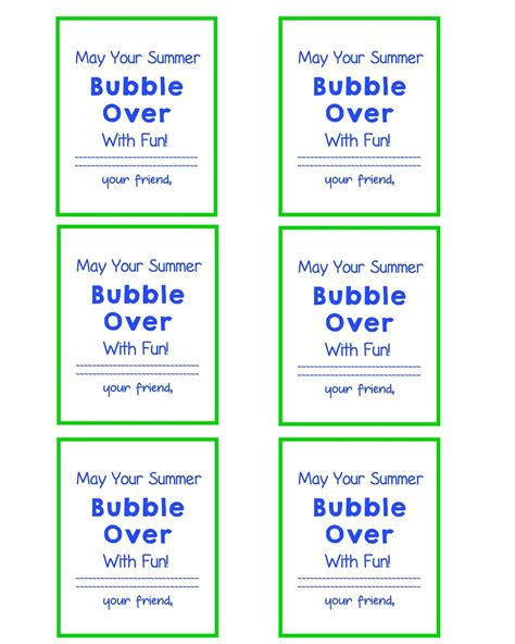 printable end of year gift tags end of school year gift bubble gift tags and free