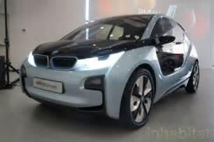 Bmw Hybrid Electric Cars Photos Bmw Unveils I3 Electric Car And I8 Hybrid Electric