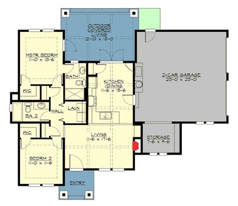 high end home plans high end craftsman getaway 23570jd 1st floor master