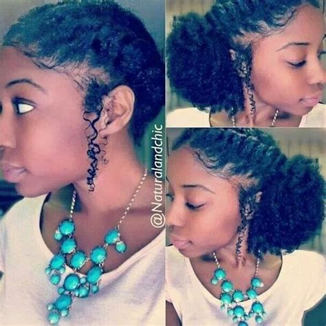 french braid natural hair high puff with french braid hairstyle 5 2015 best hair
