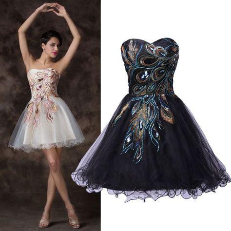 Masquerade Party Dresses On Pinterest Black Masquerade | black white vintage peacock evening ball gown masquerade