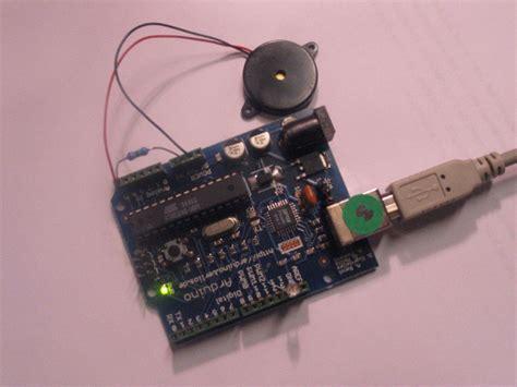 piezoelectric resistor arduino knocksensor