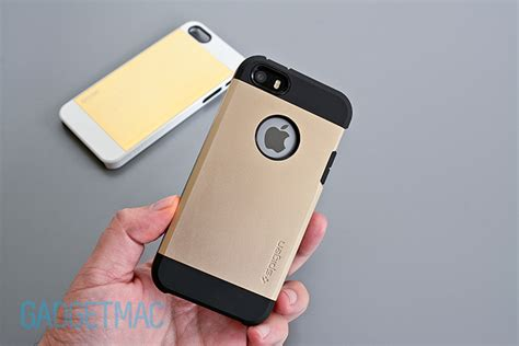 Spigen Hardcase Softcase Chasing Slim Armor For All Type spigen saturn tough armor chagne gold iphone 5s cases review gadgetmac