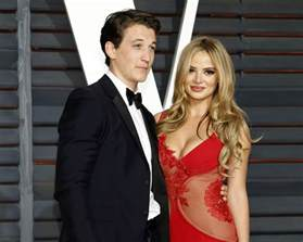 miles teller is engaged to keleigh sperry see her ring