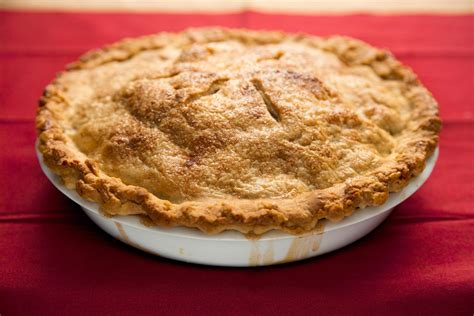 fresh apple pie recipe chow com