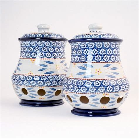 blue kitchen kanister set 1000 images about temptations cookware on