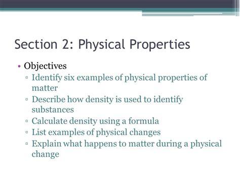 The Properties Of Matter Ppt Video Online Download