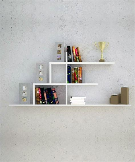 20 Creative Bookshelves Contemporary And Unique Design Wall Mounted Bookshelves Designs