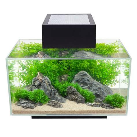 aquarium design usa 15385 fluval edge 23l 6 us gal aquarium set black