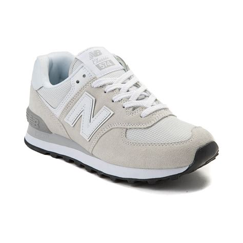 white new balance sneakers womens new balance 574 classic athletic shoe white 401657